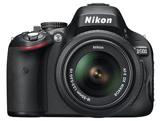Nikon D5100 Digital single-lens reflex camera