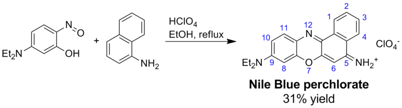 Nile Blue perchlorate synthesis