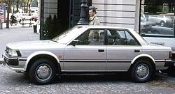 1985 Nissan Bluebird 2.0 GL berline.