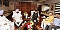 Nitin Gadkari, to discuss various issues pertaining to State, in New Delhi.JPG