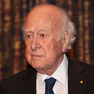 Higgs boson - Nobel Prize Laureate Peter Higgs in Stockholm, December 2013