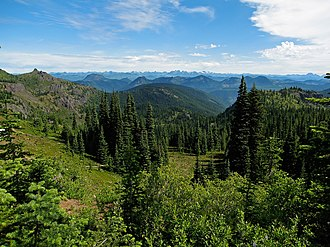 Washington (state) - Mount Baker-Snoqualmie National Forest