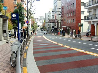 Nogizaka Station - Nogizaka slope