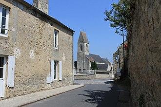 Nonant - The church in Nonant