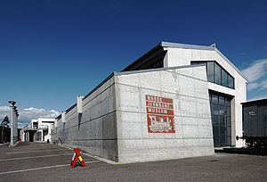 Norwegian Railway Museum - Norwegian Railway Museum administration and main exhibition hall