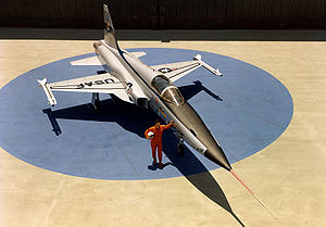 Northrop F-5 - Official roll-out of first USAF F-5E Tiger II