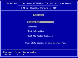 Norton Utilities - Norton Utilities 4.0 for DOS