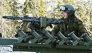 Norwegian soldier - Battle Griffin 2005