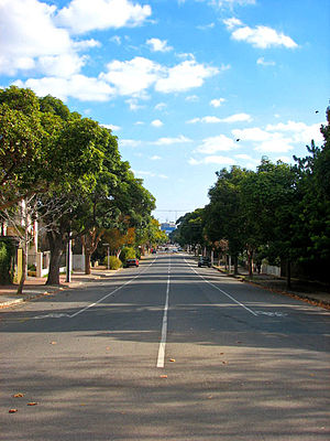 Norwood, South Australia - William Street in Norwood, facing west towards the Adelaide city centre
