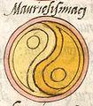 Notitia Dignitatum, Clm 10291, Image No. 275, Mauriosismiaci Shield Pattern.jpg