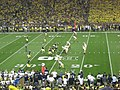 Notre Dame vs. Michigan football 2013 06 (ND on offense).jpg