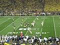 Notre Dame vs. Michigan football 2013 06 (ND on offense).jpg