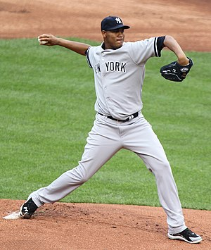 Iván Nova bei den New York Yankees 2011