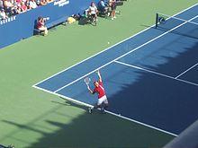 Novak Đoković allo US Open 2006