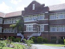 Depression Era Brick School Building Block Aedit