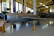 OKB Mikoyan i Guryevich MiG-17A Fresco, 1953 - Evergreen Aviation & Space Museum - McMinnville, Oregon - DSC01081.jpg