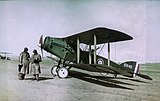 Observer, pilot, and Bristol Fighter F2B aircraft.jpg