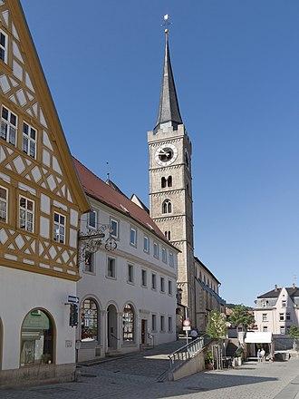 Ochsenfurt - Image: Ochsenfurt, katholische Pfarrkirche Sankt Andreas Dm D 6 79 170 107 foto 4 2016 08 07 10.44