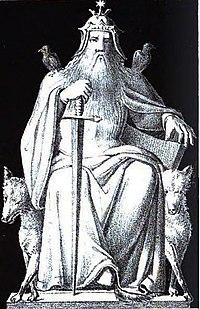 Odin oder Wodan (1832) from Die Helden und Götter des Nordens, oder Das Buch der sagen