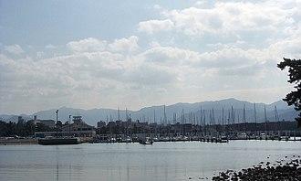 Nishi-ku, Fukuoka - Image: Odo Yacht Harbor