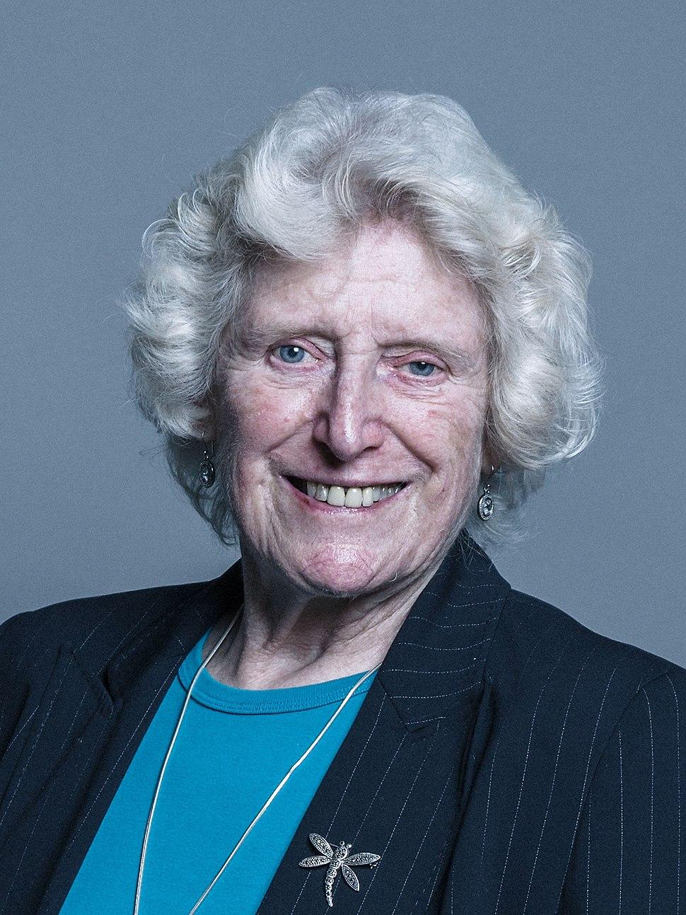 Official portrait of Baroness Butler-Sloss crop 2