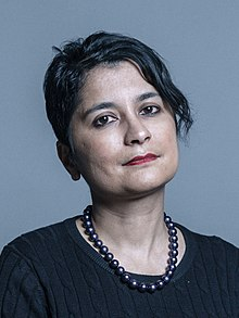 Official portrait of Baroness Chakrabarti