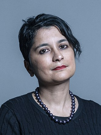Shami Chakrabarti - Image: Official portrait of Baroness Chakrabarti crop 2
