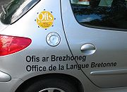 Ofis ar Brezhoneg, the Breton language agency, was set up in 1999 by the Brittany region to promote and develop the use of Breton