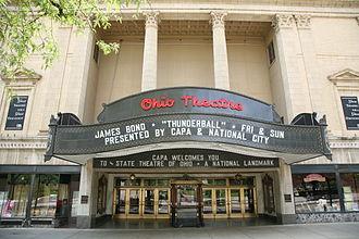 Columbus Association for the Performing Arts - The Ohio Theatre, Columbus, Ohio.