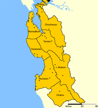Ohlone - Image: Ohlone villages