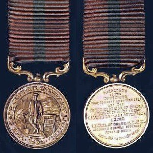 Okiep - The Cape Copper Company Medal for the Defence of O'okiep