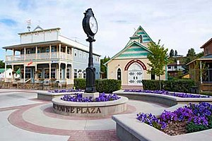 Okotoks - Olde Towne Plaza in downtown Okotoks