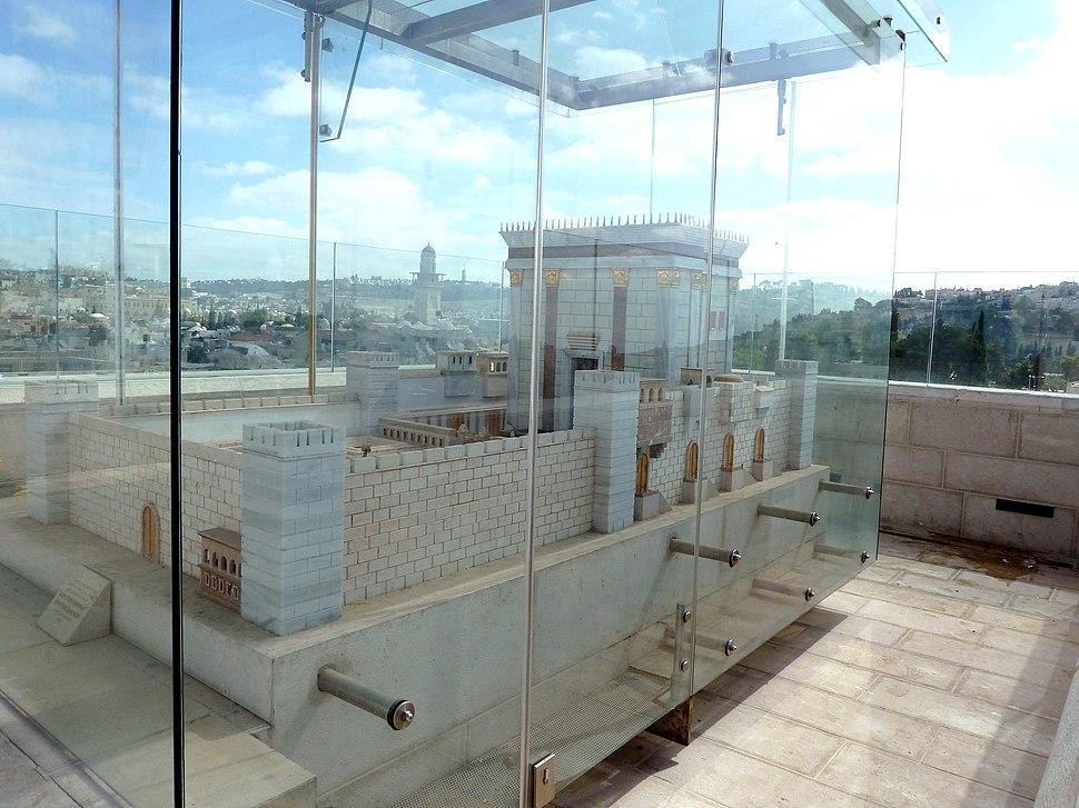 Old Jerusalem Aish HaTorah Yeshiva model of the Temple