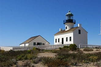 Old Point Loma Lighthouse - Old Point Loma Lighthouse
