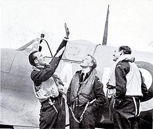 Ole Friele Backer norske flygere