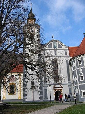 Olimje Castle - Image: Olimjesamvhod