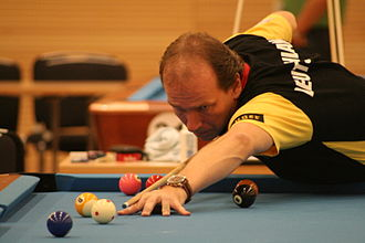 Oliver Ortmann - Ortmann at the European Pool Championship 2008 in Willingen