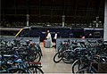 On your bike, commuters' weekday bicycles at Paddington station. - panoramio.jpg