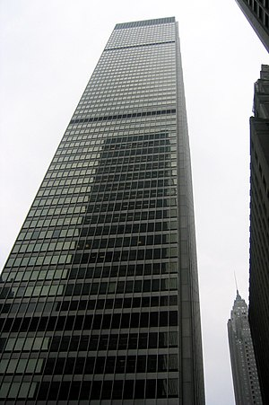 Milbank, Tweed, Hadley & McCloy - Milbank's world headquarters, at 28 Liberty Street in Manhattan's Financial District