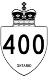A King's Highway shield