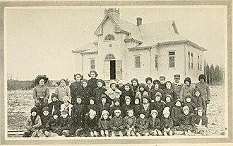 Charlton and Dack - Public School, Charlton, Ontario, 1917