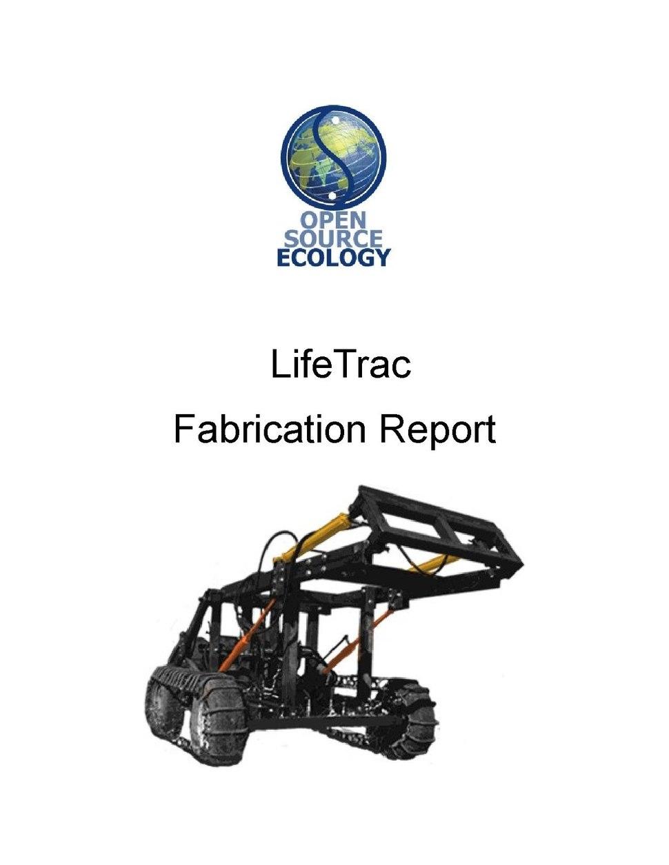 Open Source Ecology - LifeTrac - Fabricaion Manual.pdf