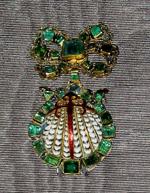 Order of Santiago - Sign of order, 17th century