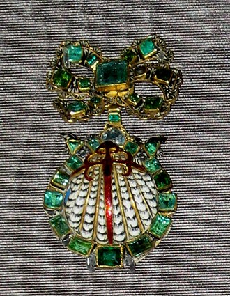 Order of Santiago - Badge of order, 17th century