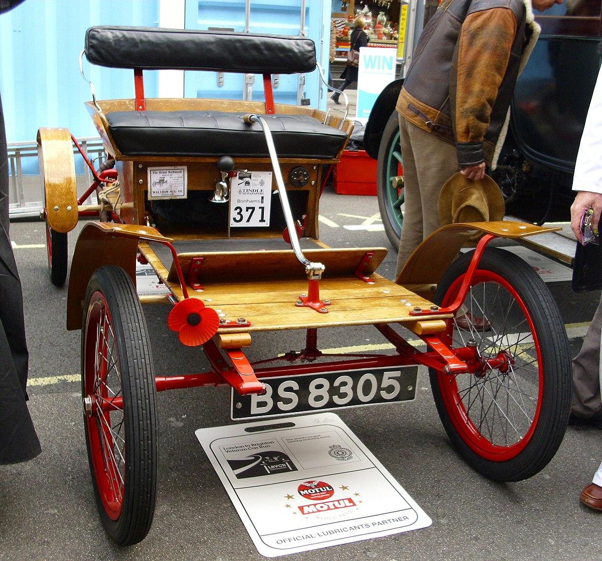 Automotive Definition Wikipedia: Buckboard (Automobil)