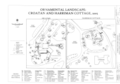 Ornamental Landscape- Croatan and Harriman Cottage, 2005 - Overhills, Fort Bragg Military Reservation, Approximately 15 miles NW of Fayetteville, Overhills, Harnett County, HALS NC-3 (sheet 8 of 13).png
