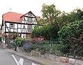 """Ortstypischer """"Dreiseithof"""" Strauß - Remise von 1829 und großen Ziergarten des Wohnhauses - Meinhard-Grebendorf Sandstraße 23 - panoramio.jpg"""