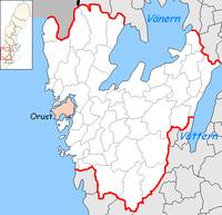 Orust Municipality in Västra Götaland County.png