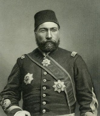 Osman Nuri Pasha - Osman Pasha in the early days of his military career
