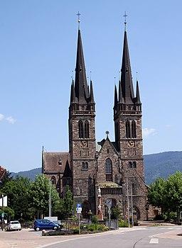 Church of St. Johannes in Ottersweier.